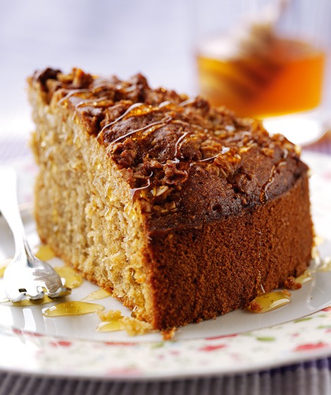 Oatmeal-Honey-Cake-Recipe-